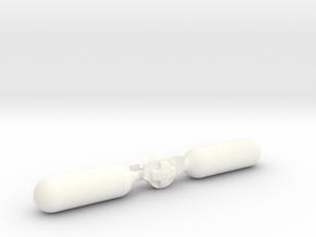 James Bond - Rebreather in White Processed Versatile Plastic