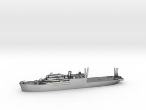 USS Pine Island seaplane tender 1:1800 WW2 in Natural Silver