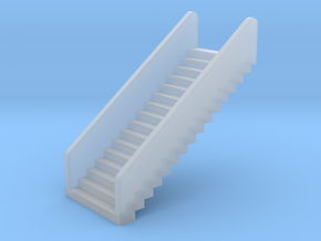 N Scale Stairs H20 in Smooth Fine Detail Plastic