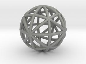 torus_frame_thin in Gray PA12: Small