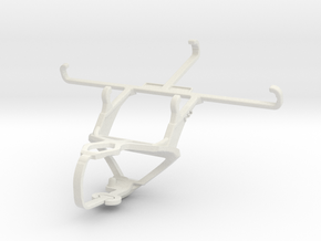 Controller mount for PS3 & Coolpad Cool 3 Plus in White Natural Versatile Plastic