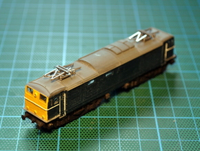 BR EM1 Class 76 Bodyshell N Gauge (1/148) in Smooth Fine Detail Plastic