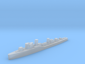 Soviet Groza guard ship 1:3000 WW2 in Smoothest Fine Detail Plastic