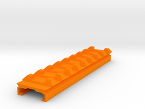 Stryfe Top Rail to Hybrid Picatinny Weaver Riser in Orange Processed Versatile Plastic