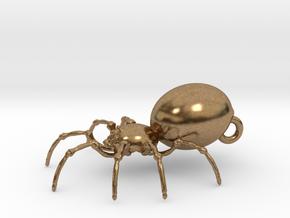 Spider in Natural Brass