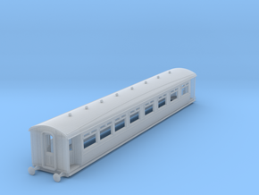 0-148fs-lnwr-M11-pp-comp-saloon-coach in Smooth Fine Detail Plastic