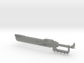 1/3 Scale  Chain Sword in Gray PA12