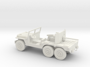 1/56 Scale 6x6 Jeep MT T14 with 37mm in White Natural Versatile Plastic