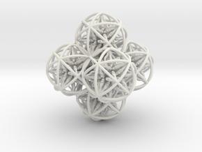 98 Dorje Object in White Natural Versatile Plastic