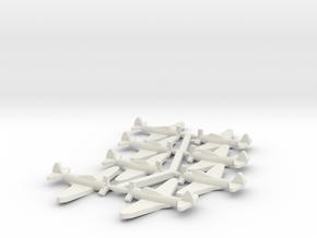 US TBD Devastator Torpedo Bomber in White Natural Versatile Plastic: Small