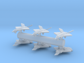 F-35E Lightning II Concept 1:700 6-Pack in Smooth Fine Detail Plastic