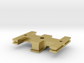 Bolster - Zscale in Natural Brass