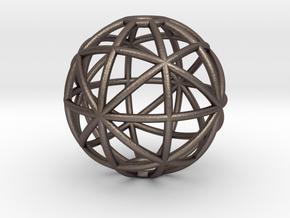 torus_pearl_type8_ultrathin in Polished Bronzed-Silver Steel