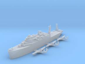 Currituck class seaplane tender pack 1:1800 WW2 in Smooth Fine Detail Plastic