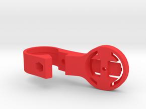 Garmin TT Handlebar Mount - 22.2mm in Red Processed Versatile Plastic