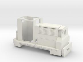 Talyllyn Railway 'Midlander' 16mm in White Natural Versatile Plastic