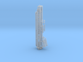 1/87th Well Drill Tower in Smooth Fine Detail Plastic