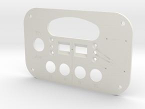 Fl 47293 SKK224 Front Plate in White Premium Versatile Plastic