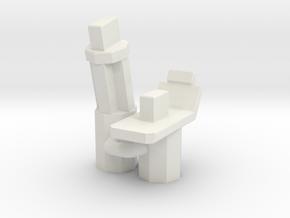 MB Destiny Display adapters in White Natural Versatile Plastic