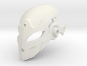 Niretta's Mask of Serenity in White Natural Versatile Plastic