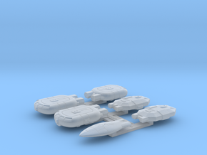 Omni Scale General Small Ship Collection 1 WEM in Smooth Fine Detail Plastic