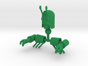 Galactic Grasshopper Bug Kit in Green Processed Versatile Plastic