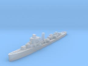 USS Jouett destroyer late war 1:3000 WW2 in Smoothest Fine Detail Plastic