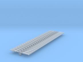 NEM OO Type 2 Couplings - Strait Instanter x25 in Smooth Fine Detail Plastic