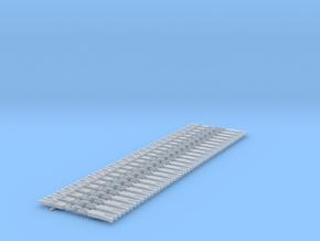 NEM OO Type 3 Couplings - Strait3  Link x25 in Smooth Fine Detail Plastic