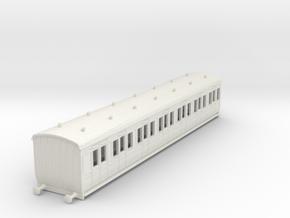 o-100-gcr-london-sub-brake-composite-coach in White Natural Versatile Plastic