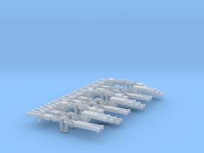 NEM OO Instanter Couplings - Sample Set in Smooth Fine Detail Plastic