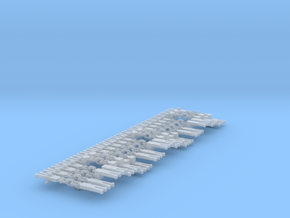 NEM OO 3 Link & Instanter Couplings - Sample in Smooth Fine Detail Plastic