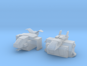 Marine Dropships x2 in Smooth Fine Detail Plastic