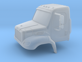 Freightliner 2 Door Closed Windows 1-87 HO Scale   in Smooth Fine Detail Plastic