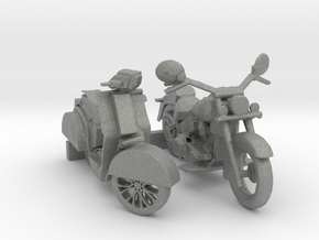 O Scale Motorcycle & Scooter in Gray PA12