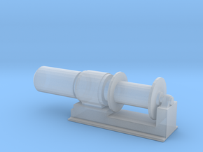 1/48 Scale 36 Inch Electric Winch in Smooth Fine Detail Plastic