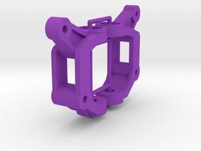 Thundershot C-Hubs without bearing or bushings in Purple Processed Versatile Plastic