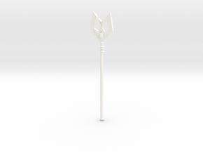 StaffOfAvionFilmationVintageSize in White Processed Versatile Plastic