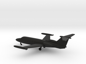 HFB 320 Hansa Jet in Black Natural Versatile Plastic: 1:200