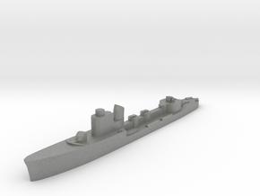 Italian Sirio torpedo boat 1:2400 WW2 in Gray PA12