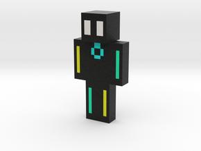 glowstick man minecraft skin | Minecraft toy in Natural Full Color Sandstone
