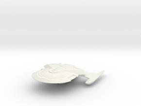 Kongo Class Cruiser in White Natural Versatile Plastic