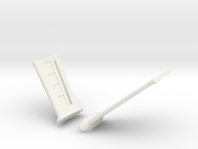 1000 TOS DISC warp pylon pair in White Natural Versatile Plastic