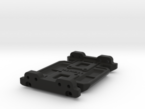 LCG Skid Gen7 Trans for SCX10 Metal Chassis in Black Natural Versatile Plastic