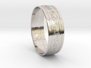 Wedding Gold Ring KTWR03 by KTkaRAJ in Platinum