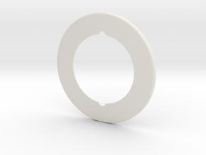Resurface Machine Gamecube CD Adapter in White Natural Versatile Plastic