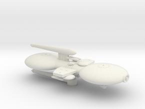 3125 Scale Gorn Light Gunboat/PF Tender SRZ in White Natural Versatile Plastic