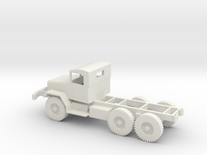 1/72 Scale M44 Chassis in White Natural Versatile Plastic