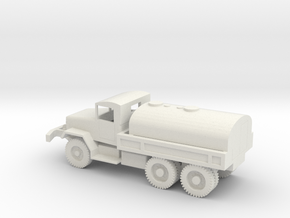1/72 Scale M50 Tanker Truck in White Natural Versatile Plastic
