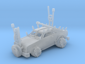 Mad Max Warboy car Killcart in Smooth Fine Detail Plastic